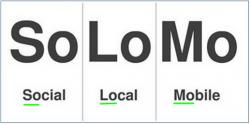 Social Local Mobile - SoLoMo applications