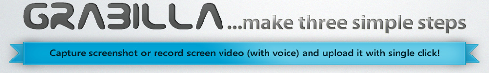 Video Howto: Use Grabilla to take a screenshot with single click.
